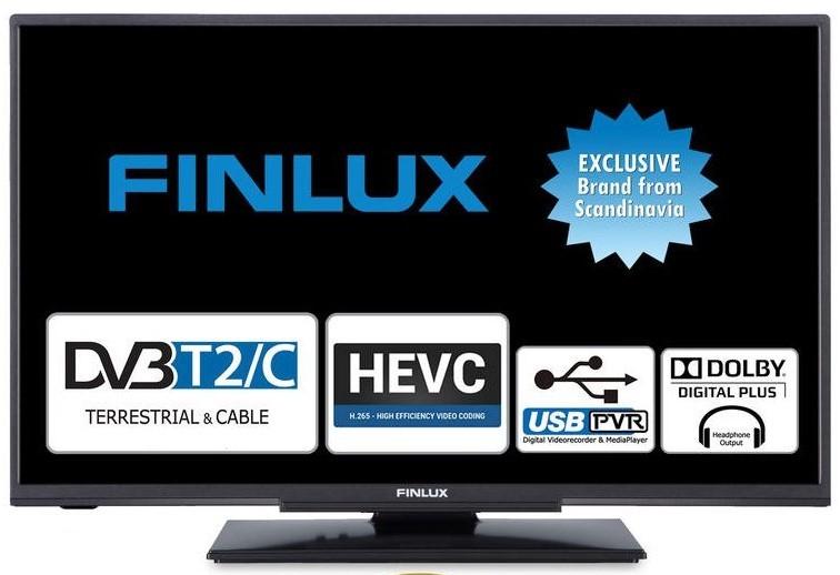 """TV s úhlopříčkou do 31"""" (79 cm) Televize Finlux 24FHD4220 (2020) / 24"""" (61 cm)"""