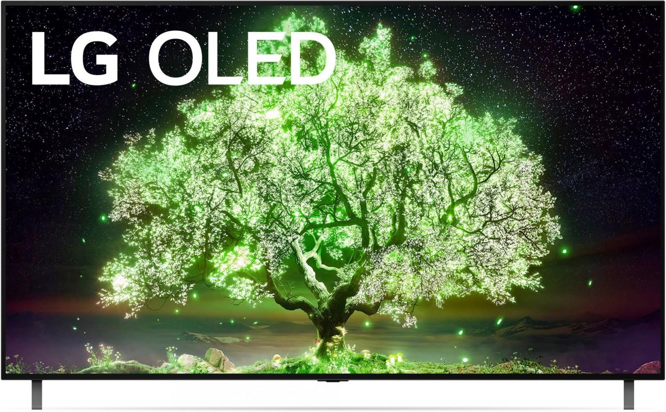 """TV s úhlopříčkou nad 70"""" (177 cm) Smart televize LG OLED77A13 (2021) / 77"""" (195 cm)"""