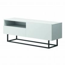 TV stolek Duva (zásuvka, bílá)