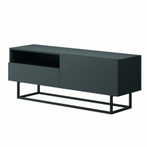 TV stolek Duva (zásuvka, grafit)