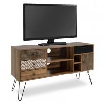 TV stolek Jonsi (ořech, hnědá)