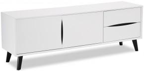 TV stolek Sens (bílá, černá)