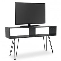 TV stolek Shape (černá, mramor)