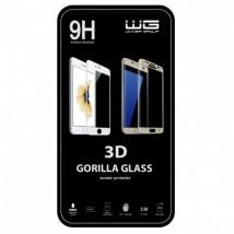 Tvrz sklo 3D Huawei P10 liteP/bílá