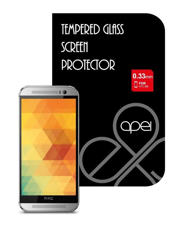 Tvrzená skla Apei Glass Protector pro HTC ONE M8 (12116)