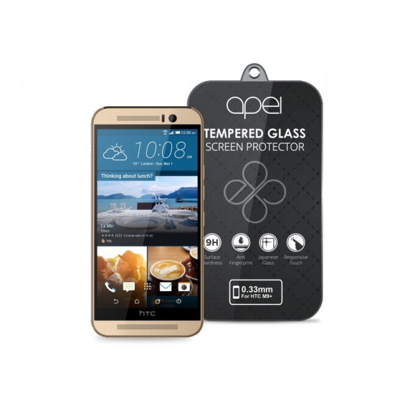 Tvrzená skla Apei Slim Round Glass Protector for HTC One M9+  (0.3mm)