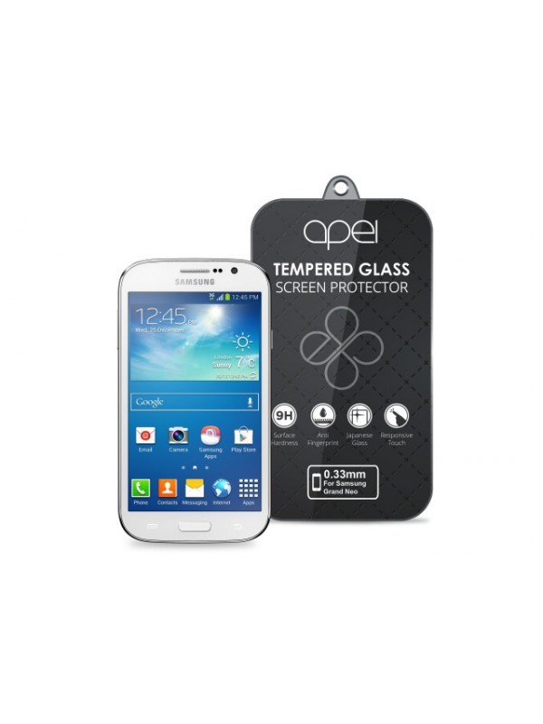 Tvrzená skla Apei Slim Round Glass Protector for Samsung Grand Neo (0.3mm)