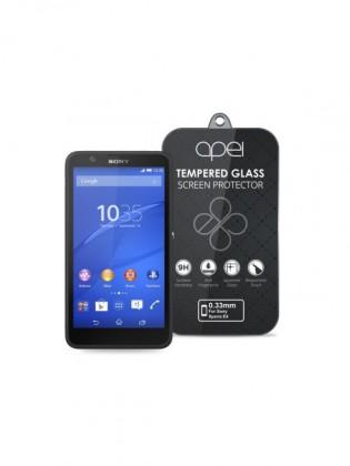 Tvrzená skla Apei Slim Round Glass Protector for Sony E4 (0.3mm)