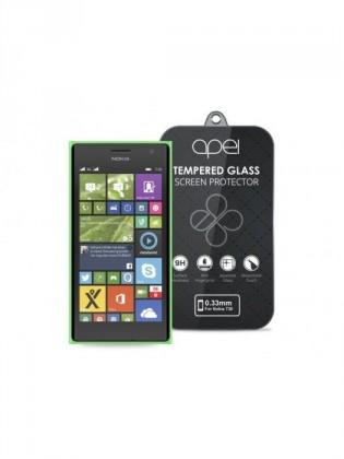 Tvrzená skla Apei Slim Round Glass Protector pro Nokia 730