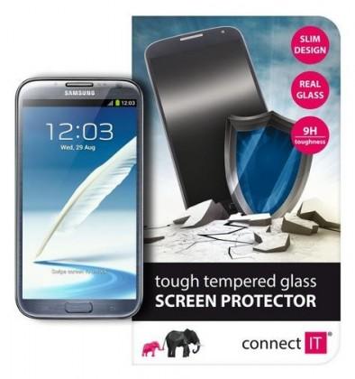 Tvrzená skla Connect IT Ochranné tvrzené sklo Samsung Note2 CI-451