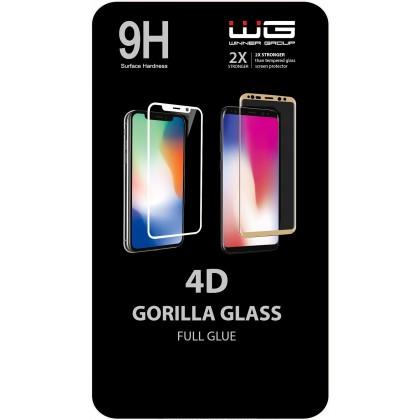 Tvrzená skla Honor Tvrzené sklo 4D pro Honor 8A/Huawei Y6S, černá