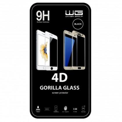 Tvrzená skla iPhone Tvrzené sklo 4D Apple iPhone XR černé