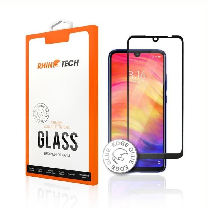 Tvrzená skla Tvrzené sklo RhinoTech pro Xiaomi Redmi Note 8 Pro (Edge glue)