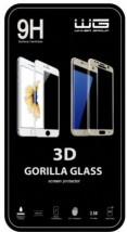 Tvrzené 3D sklo Moto E4 black