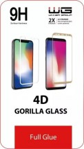 Tvrzené sklo 4D pro Honor 20 Lite, Full Glue, černá