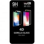Tvrzené sklo 4D pro Honor 8A/Huawei Y6S, černá