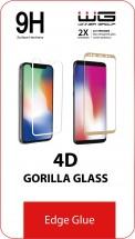 Tvrzené sklo 4D pro Motorola Edge Plus, Edge Glue, černá