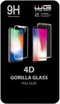 Tvrzené sklo 4D pro Samsung Galaxy A71, Full Glue, černá