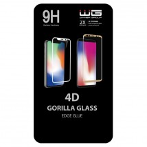 Tvrzené sklo 4D pro Samsung Galaxy S10 Plus, černá