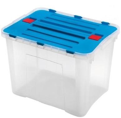 Úložné boxy Úložný box Heidrun HDR1642, DRAGON, 42l, mix barev