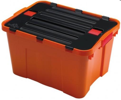 Úložné boxy Úložný box Heidrun HDR1645, DRAGON, 34l, oranžový