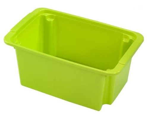 Úložné boxy Úložný box Heidrun HDR5109, 22l, plast, mix barev