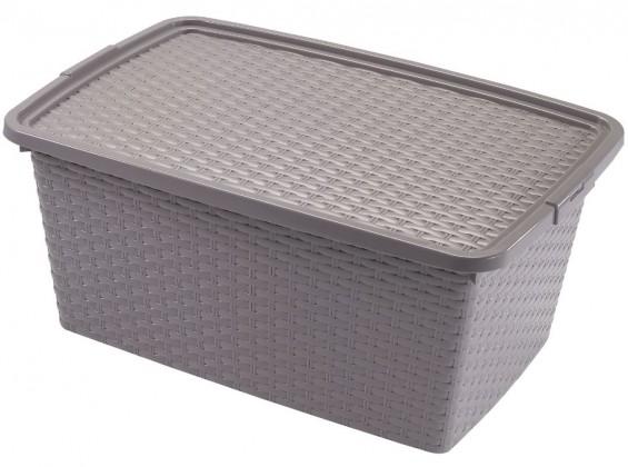 Úložné boxy Úložný box s víkem Heidrun HDR4511, 20l, plast