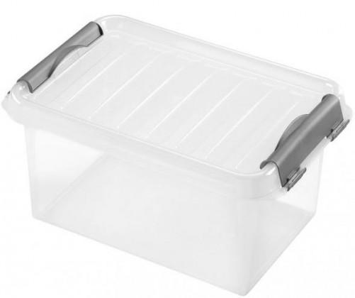 Úložné boxy Úložný box s víkem Heidrun HDR601, 4l , plast