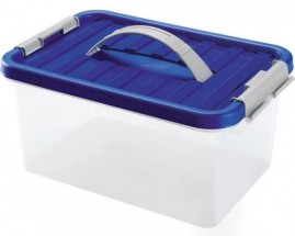 Úložný box s víkem a uchem Heidrun HDR1631, 5l, plast