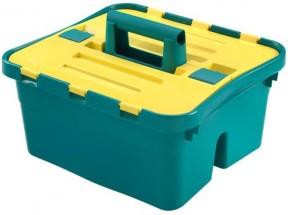 Úložný box s víkem Heidrun HDR1638, CADDY, plast, 38x35x25cm