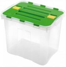 Úložný box s víkem Heidrun HDR1647, 24l, plast