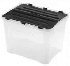 Úložný box s víkem Heidrun HDR1652, 42l, plast