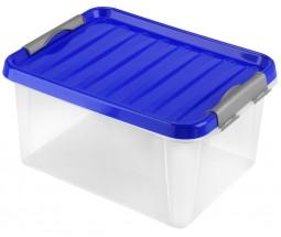 Úložný box s víkem Heidrun HDR604, 14l, plast