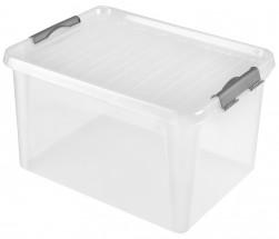 Úložný box s víkem Heidrun HDR605, 31l, plast