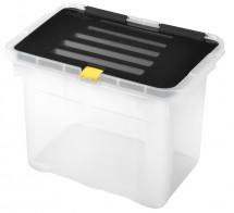 Úložný box s víkem Heidrun HDR650, 9l, plast
