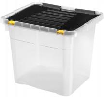 Úložný box s víkem Heidrun HDR654, 36l, plast