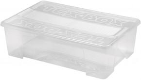 Úložný box s víkem Heidrun HDR7207, 28l, plast VADA VZHLEDU, ODĚR