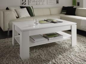 Universal - Konferenční stolek (bílá)