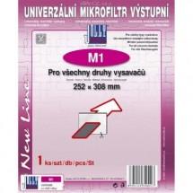 Univerzální mikrofiltr Jolly M1, výstupní
