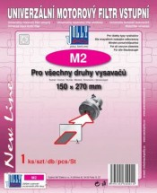 Univerzální mikrofiltr Jolly M2, vstupní