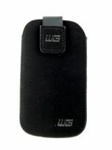 Univerzální pouzdro pro telefon, malé, vsuvka, černá