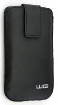 Univerzální pouzdro pro telefon WG Pure, vsuvka, 88x158mm, černá