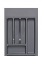 Univerzální příborník 40 cm, šedá