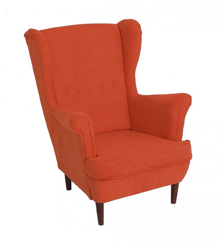 Ušák Křeslo ušák Flo oranžová