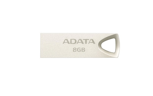 USB 2.0 flash disky 8GB ADATA UV210 USB Flash 2.0 kovová