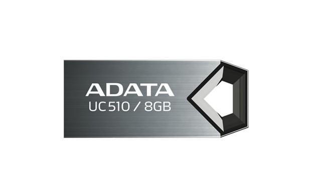 USB 2.0 flash disky A-Data UC510 8GB, titanium