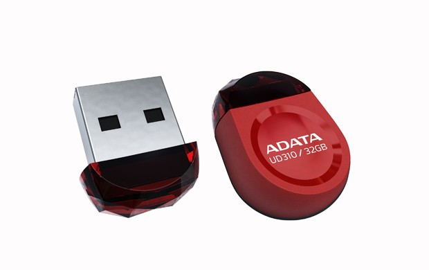 USB 2.0 flash disky A-DATA UD310 32GB, červená