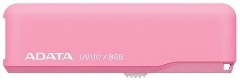 USB 2.0 flash disky ADATA DashDrive UV110 8GB růžový