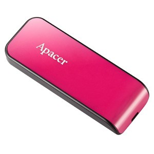 USB 2.0 flash disky Apacer USB2.0 Flash Drive AH334 32GB Pink RP