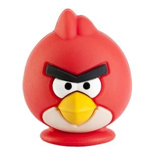 USB 2.0 flash disky Emtec Angry Bird (GA100) 4GB červený